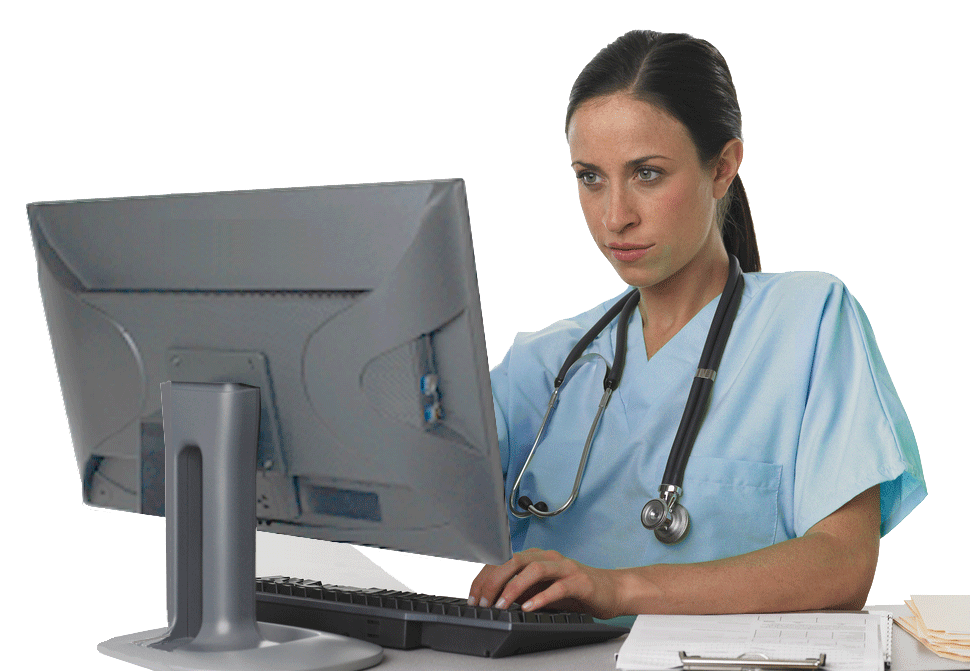 computer and nurses Definition computer literacy is a set of skills that allows individuals to use computer technology to accomplish tasks (ana, 2001, p25) computer literacy content focuses on computer basics and the use of generic software applications such as word processing, databases, presentation software, and the use of electronic communication such as email.